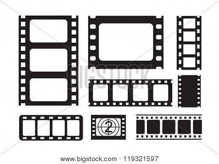 film strip icons