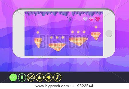 Game design - fantasy arcade