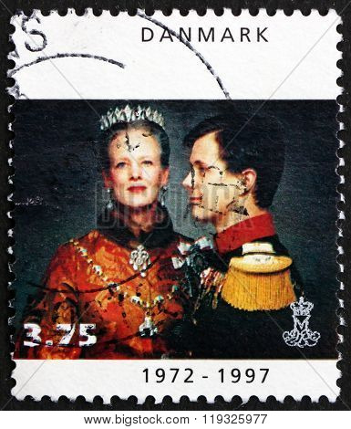 Postage Stamp Denmark 1997 Margrethe Ii, Queen Of Denmark