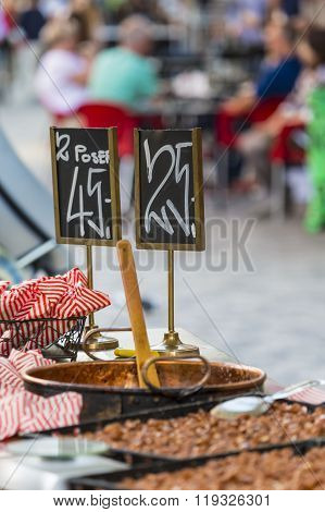 Traditional Danish Street Food