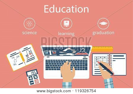 Learning Sciences. Concept Distance Education, E-learning