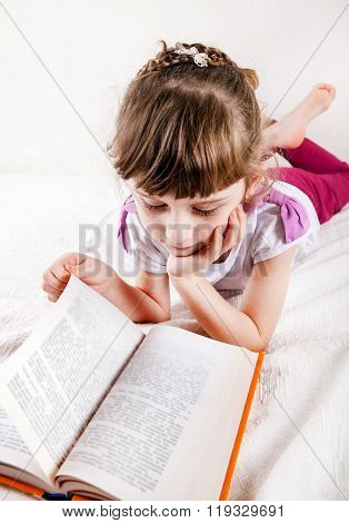 Little Girl With The Book