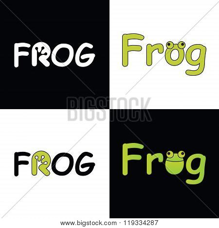 Vector logo FROG  for company