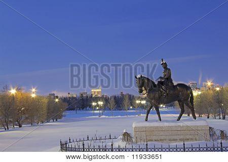 Statue Of Her Majesty Queen Elizabeth II