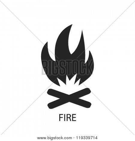 fire icon, fire logo, fire icon vector, fire illustration, fire symbol