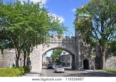 St. Louis Gate in Quebec City, Canada