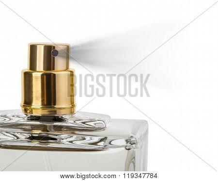 Close Up Of A Spray Nozzle