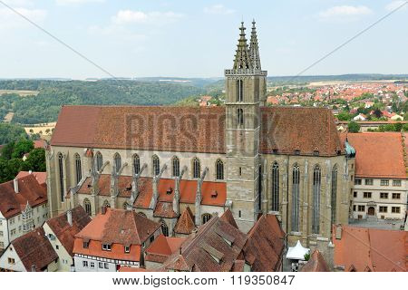 Rothenburg Ob Der Tauber Germany.