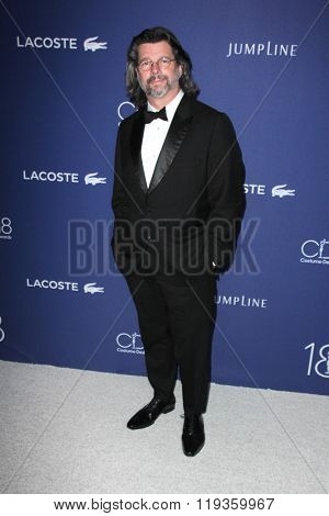 LOS ANGELES - FEB 23:  Ronald D. Moore at the 18th Costume Designers Guild Awards at the Beverly Hilton Hotel on February 23, 2016 in Beverly Hills, CA
