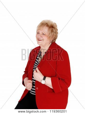 Lovely Older Woman Smiling.
