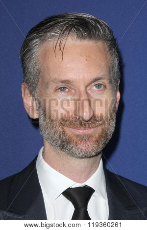LOS ANGELES - FEB 23:  Michael Wilkinson at the 18th Costume Designers Guild Awards at the Beverly Hilton Hotel on February 23, 2016 in Beverly Hills, CA