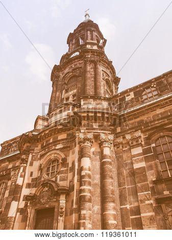 Kreuzkirche Dresden Vintage