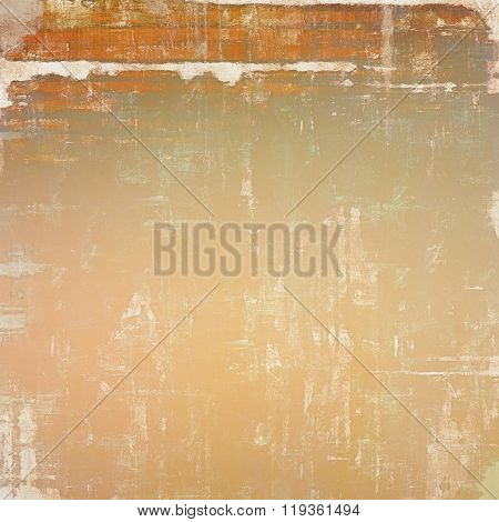Vintage spotted textured background. With different color patterns: yellow (beige); brown; red (orange); gray; white