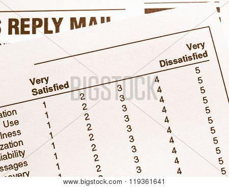 Survey Vintage