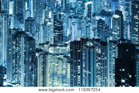 Hong Kong skycrapers