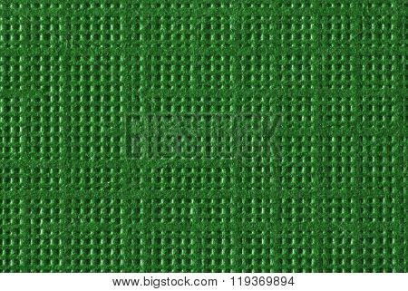 Green Textured Paper Macro