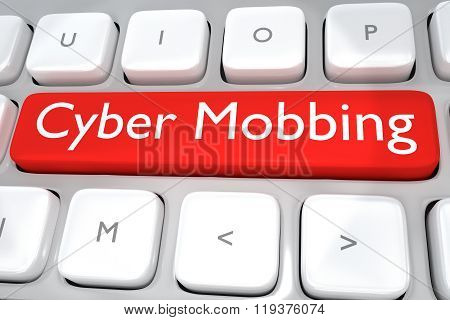 Cyber Mobbing Concept