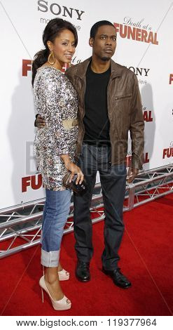 Chris Rock and Malaak Compton at the World Premiere of