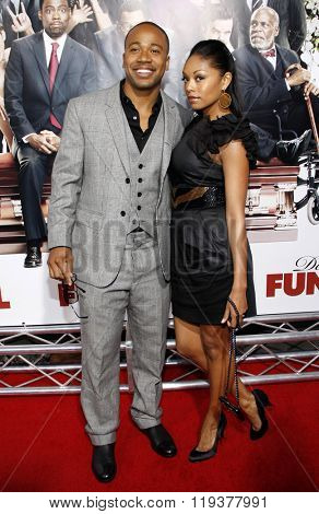 Columbus Short at the World Premiere of