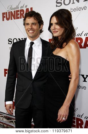 James Marsden at the World Premiere of