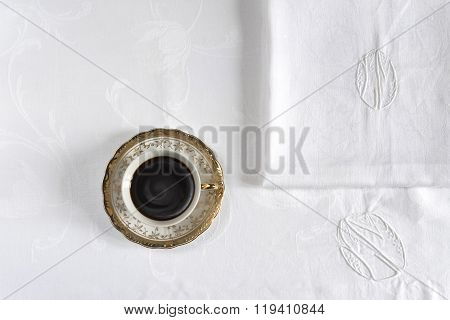 cup of coffee with background