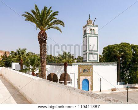 Entrance In Bardo Museum, Tunis, Tunisia.