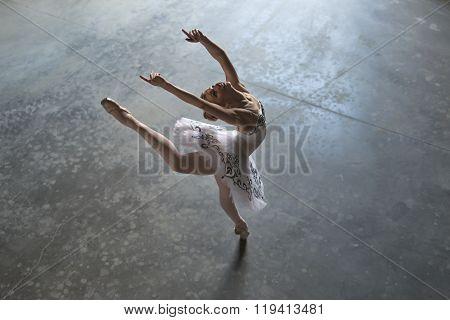 Ballerina indoors