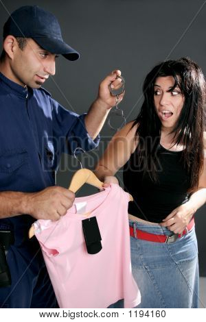 Shoplifting Is A Crime