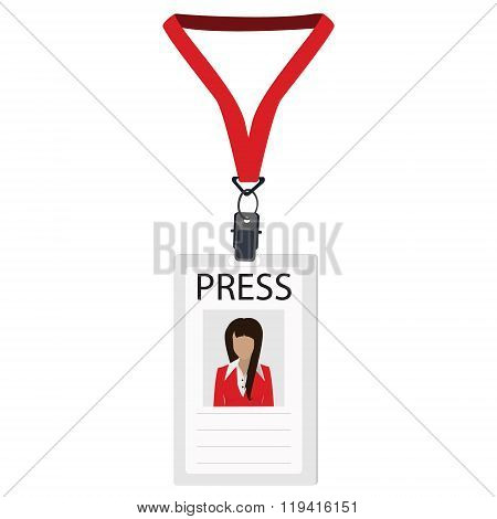 Badge For Press