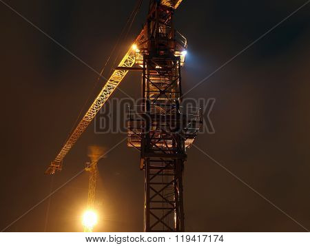 Cranes In The Night