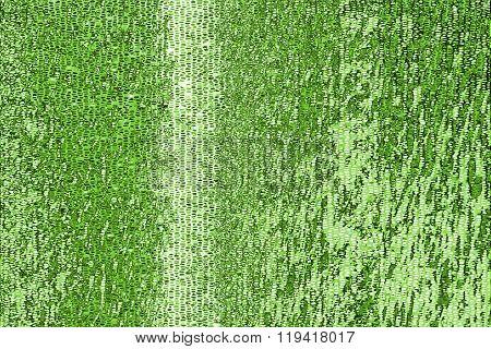 Green mosaic Pattern
