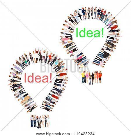 Corporate Teamwork People Diversity