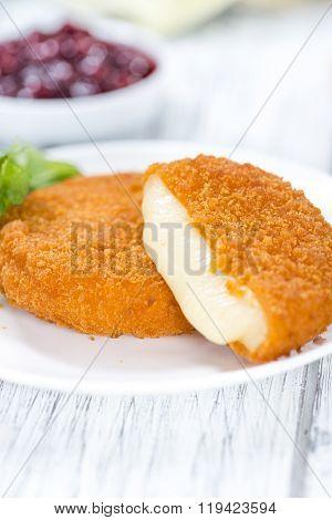 Fried Camembert (selective Focus)