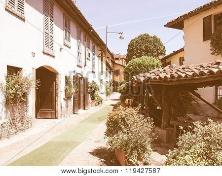Vicolo Dei Lavandai, Milan Vintage