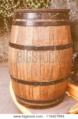 Barrel Cask Vintage