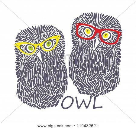 Two wise owls.
