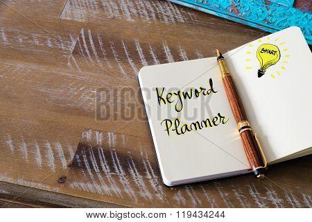 Written Text Keyword Planner