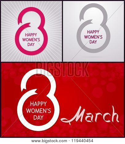 8 March. Happy Women's Day
