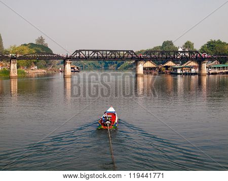 River Kwai Bridge Of Kanchanaburi