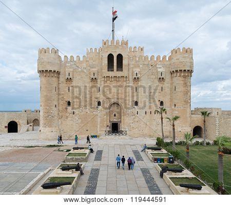 Qaitbay Castle, Alexandria, Egypt
