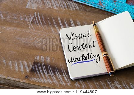 Handwritten Text Visual Content Marketing