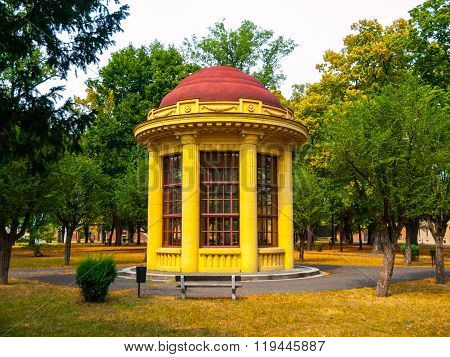 Park gazebo in Terezin