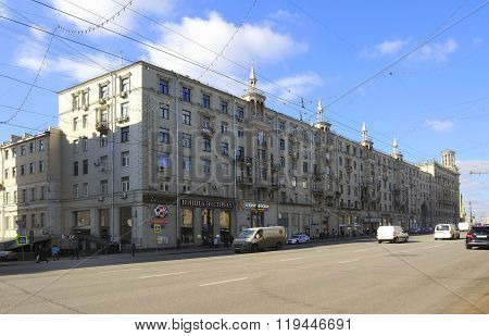 Tverskaya Street is one of the main radial streets in Moscow. Street arose as a way to Tver