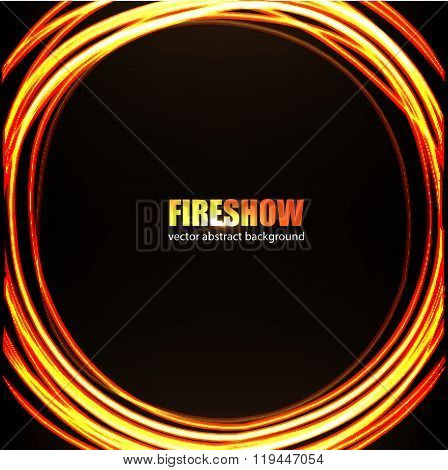Fire show_background