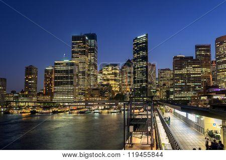 Overseas Passenegr Terminal at Circular Quay in Sydney
