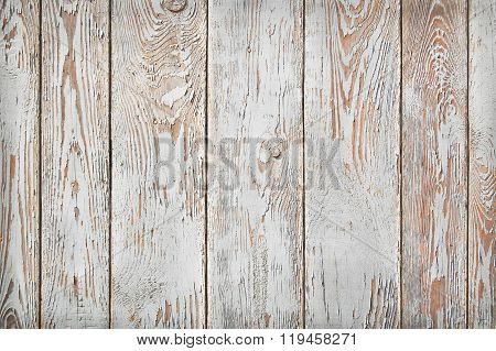 shabby wooden planks, white and sienna brown