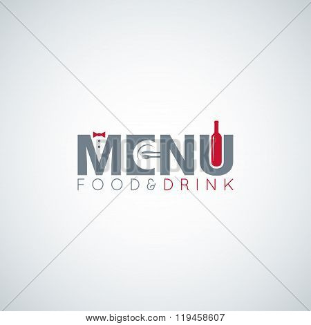 food and drink menu wine plate vector background