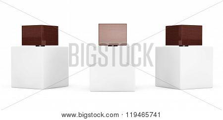 White Perfume Spray Bottles