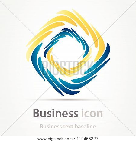 Duocolor Business Icon