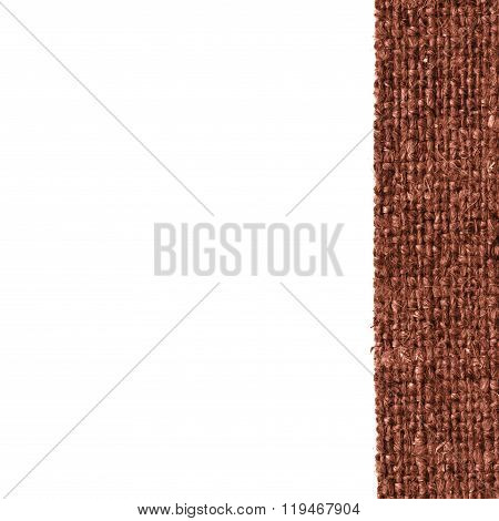 Textile Yarn, Fabric Image, Coffee Canvas, Fine Material, Braided Background